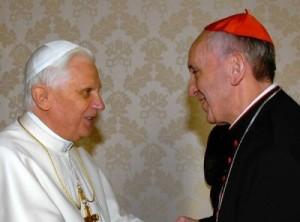 Benedict and Bergoglio